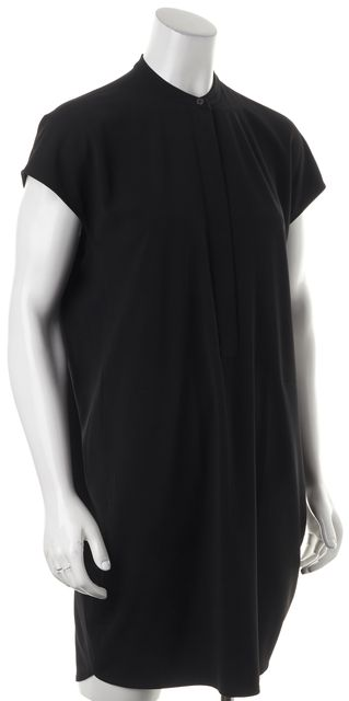 VINCE Half Placket Tunic Dress