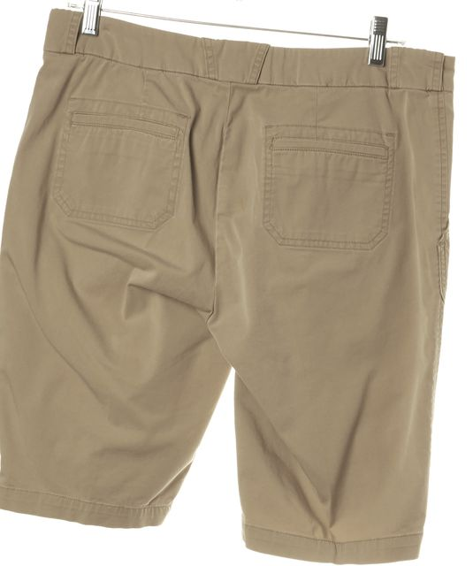 VINCE Beige Khaki Bermuda, Walking Shorts