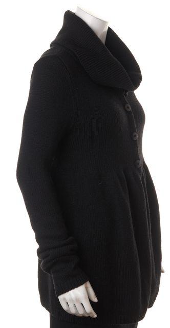 VINCE Black Wool Cowl Neck Sweater
