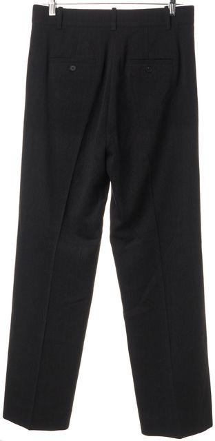 VINCE Gray Wool Straight Leg Casual Dress Pants