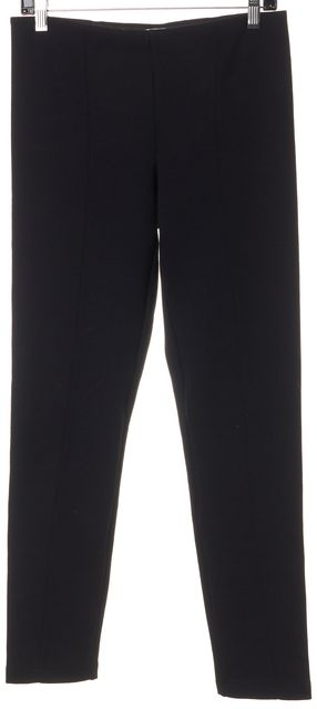 VINCE Black Exposed Seams Legging Pants