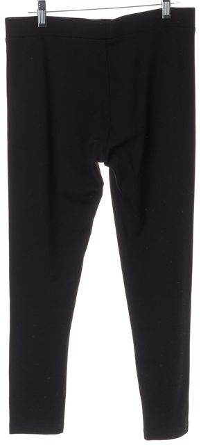 VINCE Black Jersey Cropped Leggings Casual Pants