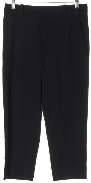 VINCE Black Cropped Dress Pants