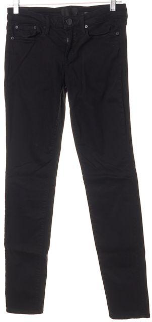 VINCE Black Mid-Rise Five Pocket Dylan Skinny Jeans