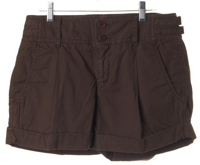 VINCE Brown Khaki Chino Shorts