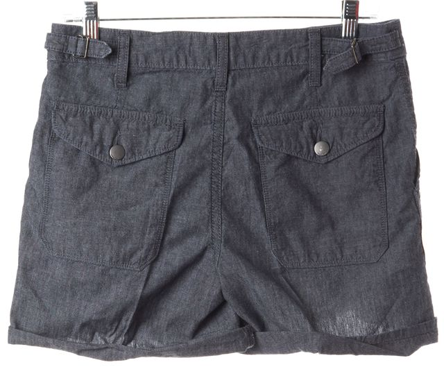 VINCE Chambray Blue Cargo Shorts