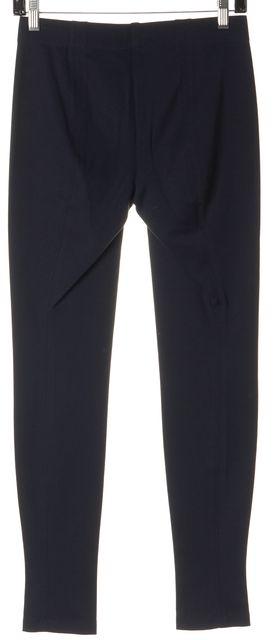 VINCE Navy Blue Ribbed Leggings