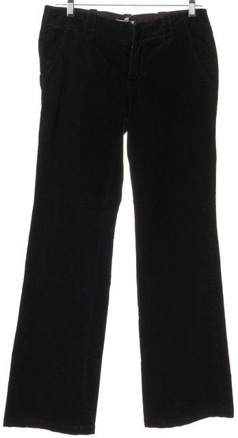 VINCE Black Corduroys Flare Leg Boot Cut Pants