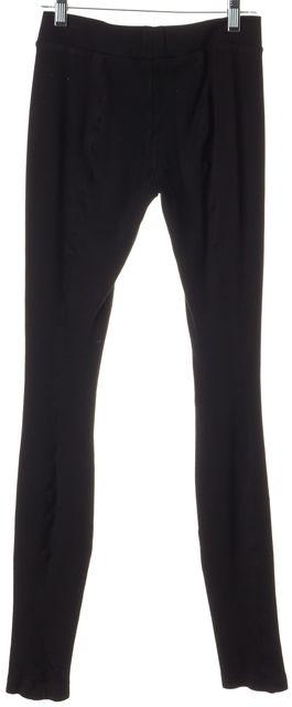 VINCE Black Casual Stretch Pants Leggings