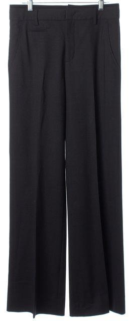 VINCE Medium Gray Wool Blend Wide Legged Dress Pants
