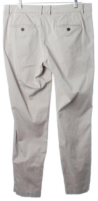 VINCE Pale Gray Slim Fit Khaki Pants