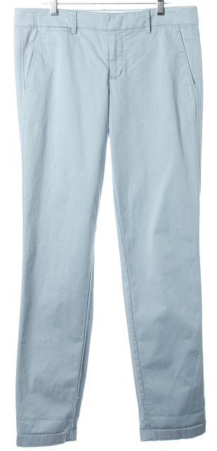 VINCE Baby Blue Casual Slim Fit Pants