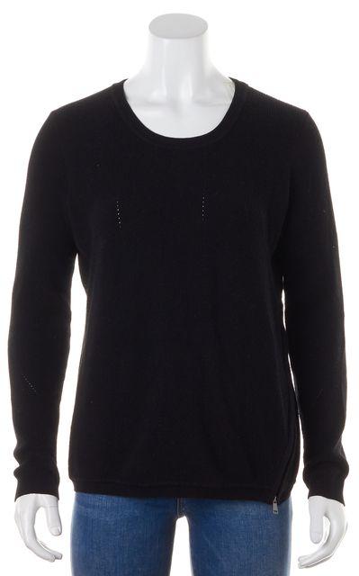VINCE Black Crewneck Sweater