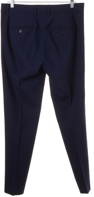 VINCE Dark Navy Blue Wool Crease Front Dress Pants