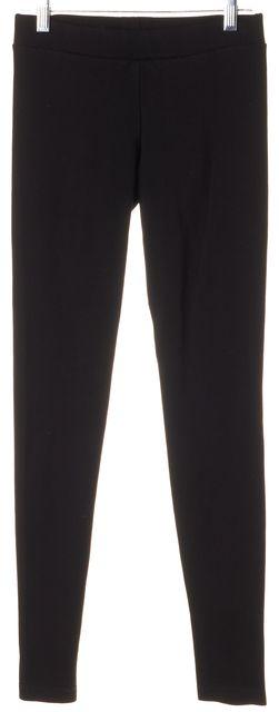 VINCE Black Viscose Casual Pant Leggings