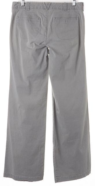VINCE Cement Gray Cotton Blend Trousers Pants