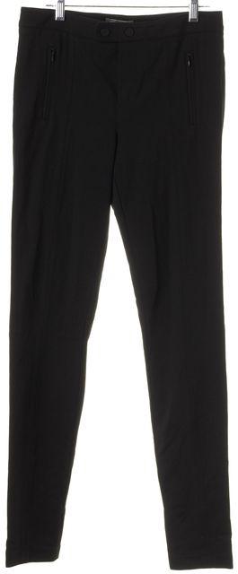 VINCE Black Zipped Pockets Casual Pants