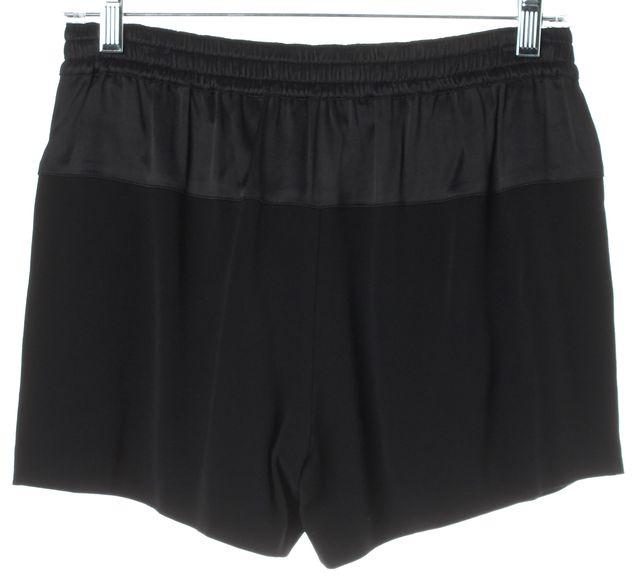 VINCE Black Drawstring Casual Shorts