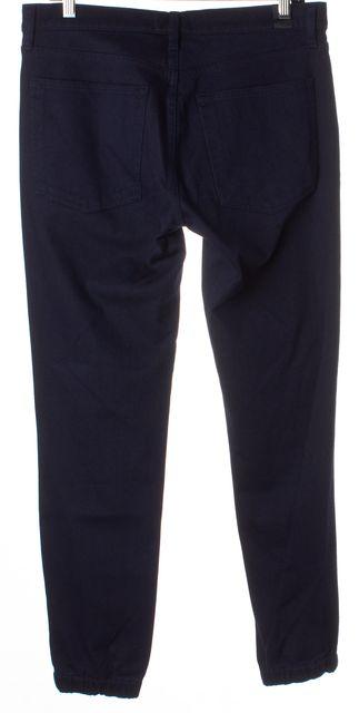 VINCE Blue Elastic Cuff Slim Fit Jogger Jeans