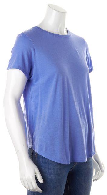 VINCE Periwinkle Blue Short Sleeve Crewneck T-Shirt