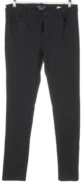 VINCE Charcoal Gray Button Front Leggings
