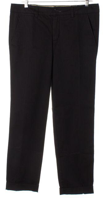 VINCE Black Slim Trouser Dress Pants