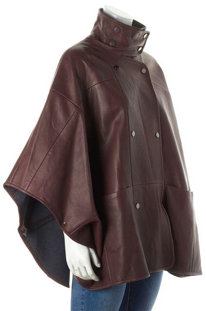 VINCE Walnut Brown Cape Poncho Coat