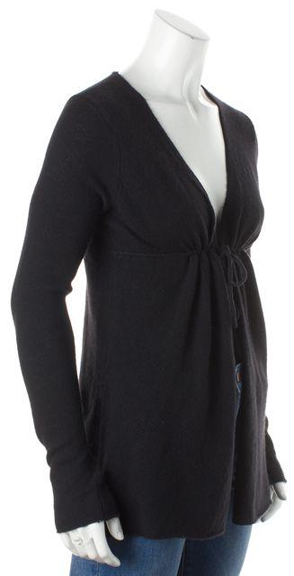 VINCE Black Cashmere Cardigan