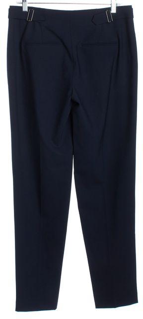 VINCE Navy Blue Wool Trousers Pants