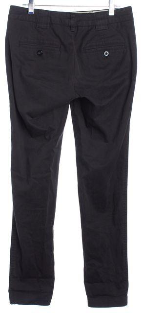 VINCE Black Two Pocket Detailed Skinny Dress Pants