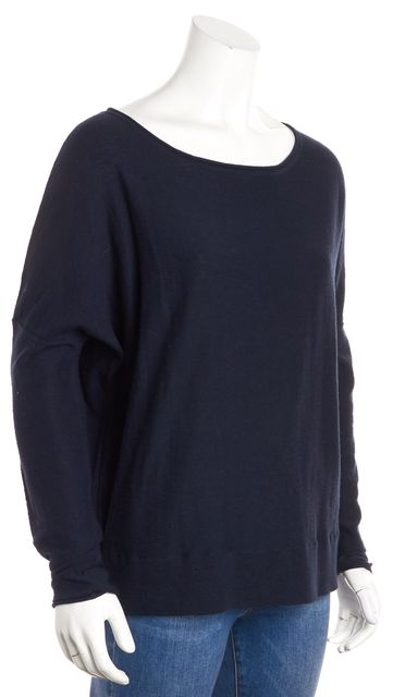VINCE Navy Blue Knit Top