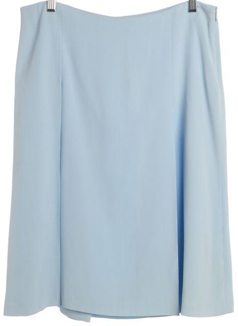 VALENTINO Blue Straight Skirt