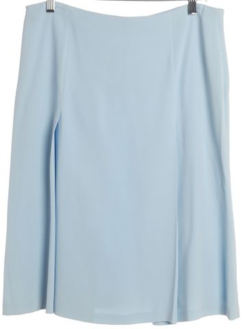 VALENTINO Blue Straight Skirt