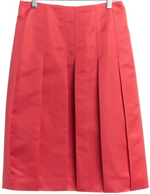 VALENTINO Pink Pleated Skirt