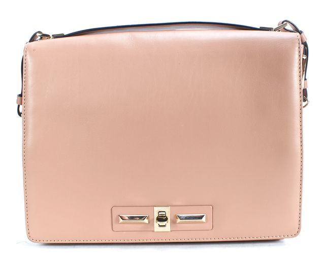 VALENTINO Pale Pink Leather Crossbody Bag