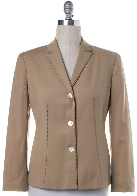 VALENTINO Beige Wool Blazer Jacket