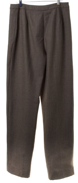 VALENTINO MISS V Brown Wool Trousers