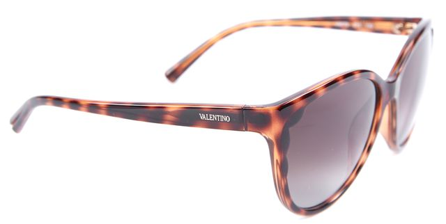 VALENTINO Brown Cat Eye Sunglasses