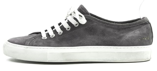 WOMAN BY COMMON PROJECTS Gray Suede Tournament Sneakers