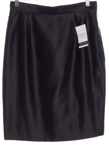 YVES SAINT LAURENT Vintage Black Pencil Skirt