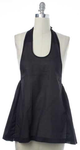 YVES SAINT LAURENT Black Halter Top