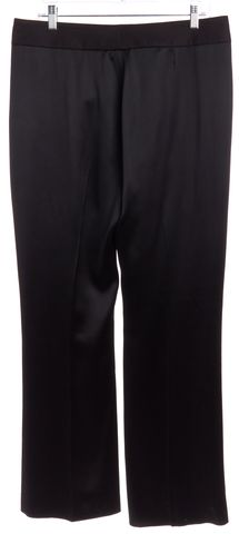 YVES SAINT LAURENT Black Silk Wide Leg Pants