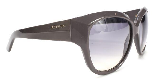 YVES SAINT LAURENT Gray Frame Graident Lens Cat Eye Sunglasses