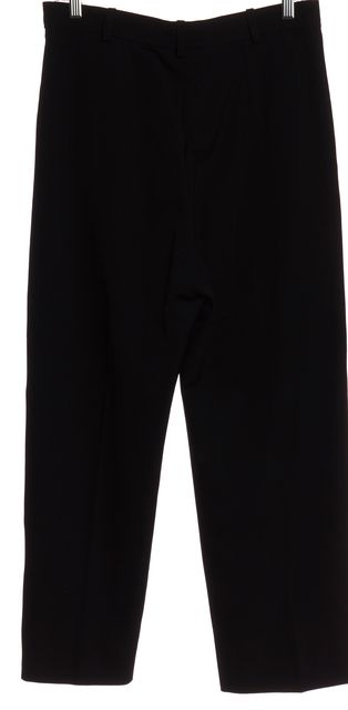 YVES SAINT LAURENT Black Wool Dress Pants