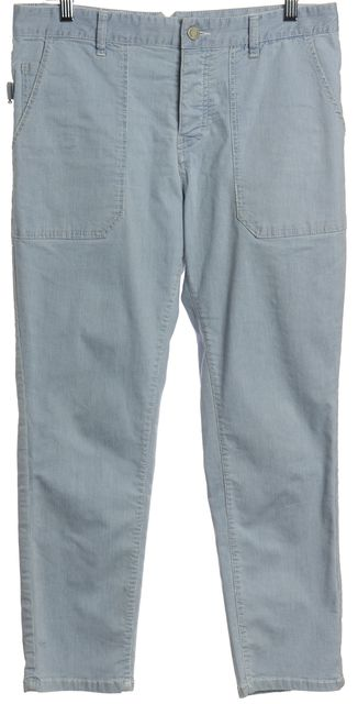 ZADIG & VOLTAIRE Blue White Multi Casual Pants